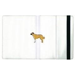 Anatolian Shepherd color silhouette Apple iPad 2 Flip Case
