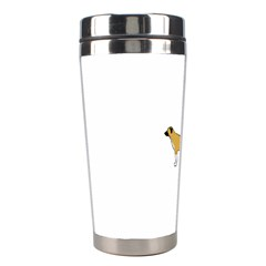 Anatolian Shepherd color silhouette Stainless Steel Travel Tumblers