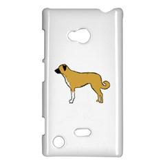 Anatolian Shepherd color silhouette Nokia Lumia 720