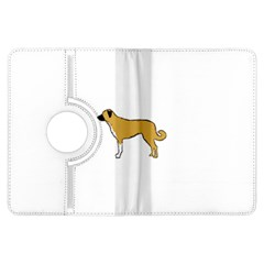 Anatolian Shepherd color silhouette Kindle Fire HDX Flip 360 Case
