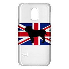 Bulldog Silhouette on flag Galaxy S5 Mini