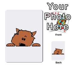 Peeping Pomeranian Multi-purpose Cards (Rectangle)