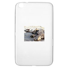 Cairn Terrier Sleeping On Beach Samsung Galaxy Tab 3 (8 ) T3100 Hardshell Case