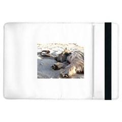 Cairn Terrier Sleeping On Beach iPad Air Flip