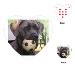 Cane Corso Playing Cards (Heart)