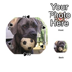 Cane Corso Playing Cards 54 (Round)