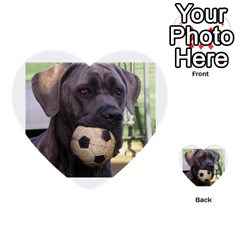 Cane Corso Multi-purpose Cards (Heart)