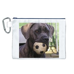 Cane Corso Canvas Cosmetic Bag (L)