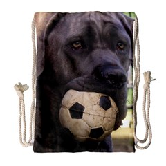 Cane Corso Drawstring Bag (Large)