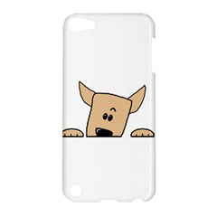 Peeping Chihuahua Apple iPod Touch 5 Hardshell Case