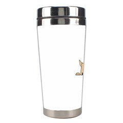 Peeping Chihuahua Stainless Steel Travel Tumblers