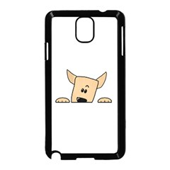 Peeping Chihuahua Samsung Galaxy Note 3 Neo Hardshell Case (Black)