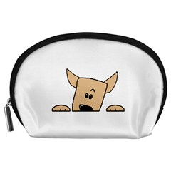 Peeping Chihuahua Accessory Pouches (Large)
