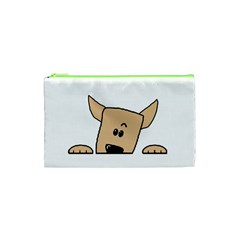 Peeping Chihuahua Cosmetic Bag (XS)
