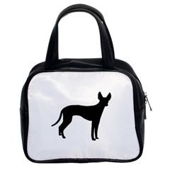 Cirneco Delletna Silhouette Classic Handbags (2 Sides)