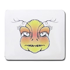 Angry Monster Portrait Drawing Large Mousepads