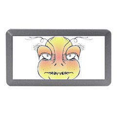 Angry Monster Portrait Drawing Memory Card Reader (mini)