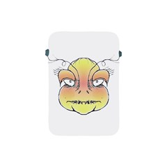 Angry Monster Portrait Drawing Apple iPad Mini Protective Soft Cases