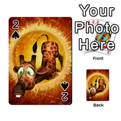 I m Waiting For You, Cute Giraffe Playing Cards 54 Designs