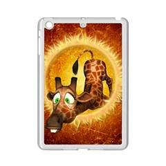 I m Waiting For You, Cute Giraffe iPad Mini 2 Enamel Coated Cases