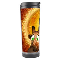 I m Waiting For You, Cute Giraffe Travel Tumblers