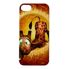 I m Waiting For You, Cute Giraffe Apple iPhone 5S Hardshell Case