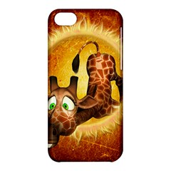 I m Waiting For You, Cute Giraffe Apple iPhone 5C Hardshell Case