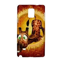 I m Waiting For You, Cute Giraffe Samsung Galaxy Note 4 Hardshell Case