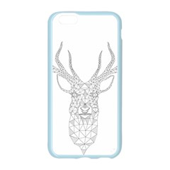Modern Geometric Christmas Deer Illustration Apple Seamless iPhone 6/6S Case (Color)