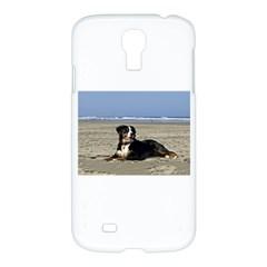 Bernese Mountain Dog Laying On Beach Samsung Galaxy S4 I9500/I9505 Hardshell Case