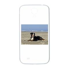 Bernese Mountain Dog Laying On Beach Samsung Galaxy S4 I9500/I9505  Hardshell Back Case