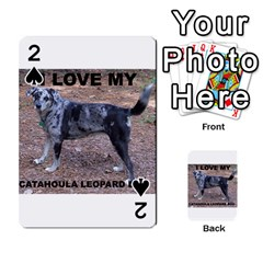 Catahoula Love With Picture Playing Cards 54 Designs