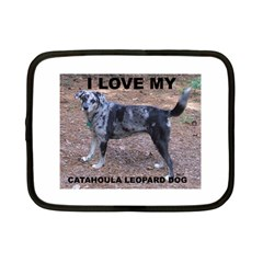 Catahoula Love With Picture Netbook Case (Small)