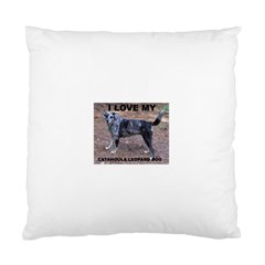 Catahoula Love With Picture Standard Cushion Cases (Two Sides)