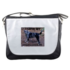 Catahoula Love With Picture Messenger Bags
