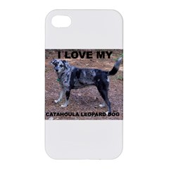 Catahoula Love With Picture Apple iPhone 4/4S Premium Hardshell Case