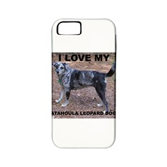 Catahoula Love With Picture Apple iPhone 5 Classic Hardshell Case (PC+Silicone)