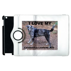 Catahoula Love With Picture Apple iPad 3/4 Flip 360 Case