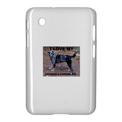 Catahoula Love With Picture Samsung Galaxy Tab 2 (7 ) P3100 Hardshell Case