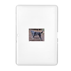 Catahoula Love With Picture Samsung Galaxy Tab 2 (10.1 ) P5100 Hardshell Case