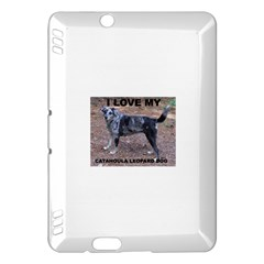 Catahoula Love With Picture Kindle Fire HDX Hardshell Case
