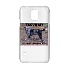 Catahoula Love With Picture Samsung Galaxy S5 Hardshell Case