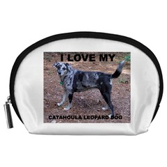 Catahoula Love With Picture Accessory Pouches (Large)