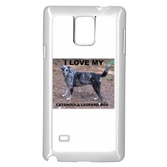Catahoula Love With Picture Samsung Galaxy Note 4 Case (White)