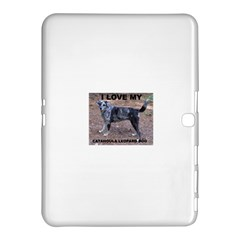Catahoula Love With Picture Samsung Galaxy Tab 4 (10.1 ) Hardshell Case