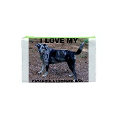 Catahoula Love With Picture Cosmetic Bag (XS)