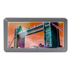 London Tower Bridge, Bokeh Orange Memory Card Reader (Mini)