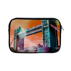 London Tower Bridge, Bokeh Orange Apple iPad Mini Zipper Cases