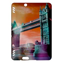 London Tower Bridge, Bokeh Orange Kindle Fire Hdx Hardshell Case