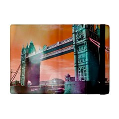 London Tower Bridge, Bokeh Orange iPad Mini 2 Flip Cases